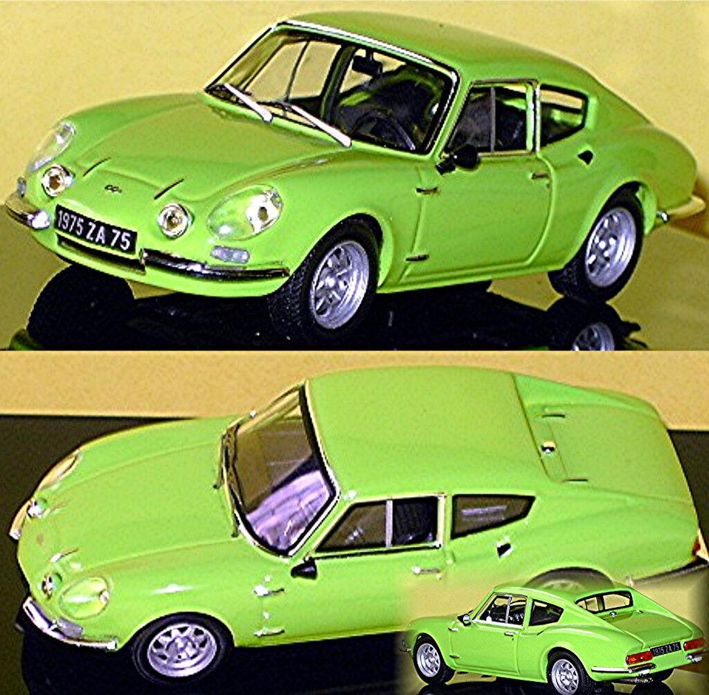Simca CG Coupè 1973 green 1 43 Ixo Clc196