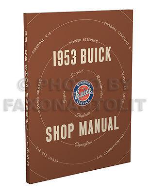 1953 Buick Shop Manual on CD Special Skylark Super Roadmaster Service Repair 53