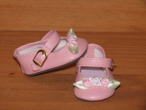SHOES TO FIT THE AMERICAN GALOOB BABY FACE GIRL PINK ROSEBUD