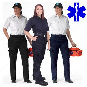 68156f3b77dde Women's 9 Pocket EMT Pants - Rothco EMT/EMS Paramedic Work Pant | eBay