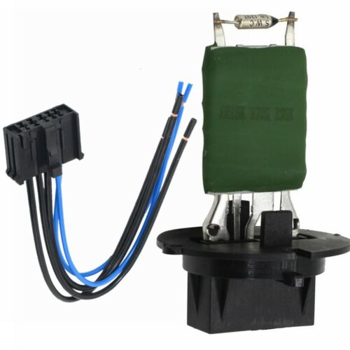 Heater Blower Motor Resistor Connector w Wiring Harness Loom For Peugeot 206 307