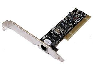 Vivanco 23412 PN208100CX2A - 10/100 PCI Network Interface NIC Card [4712]
