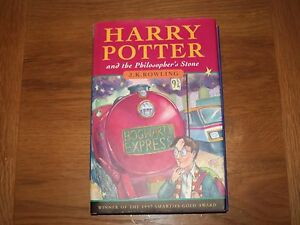 Harry Potter And The Philosophers Stone First Edition 1st