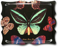 Melamine Tv Trays Serving Trays Ottoman Tray Bed Tray Plastic Butterfly 19x15