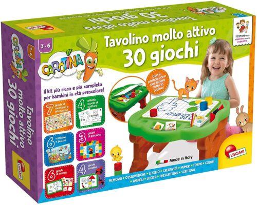 Gioco per Bambini Carotina Tavolino Molto Attivo 30 Giochi