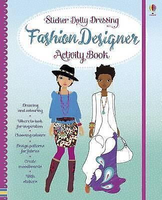 "1 of 1 - ""VERY GOOD"" Sticker Dolly Dressing Fashion Designer Activity Book (Sticker Dolly"