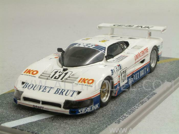 Spice SE87C Ford Le Mans 1988 Grand - Terrien - Guenon 1 43 BIZARRE BZ490