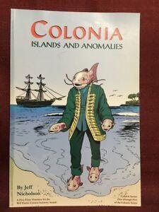 Colonia Islands and Anomalies Paperback Jeff Nicholson AiT/Planet Lar