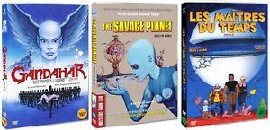 Rene Laloux Collection Gandahar The Fantastic Planet Time Masters 3 Dvd Set Ebay