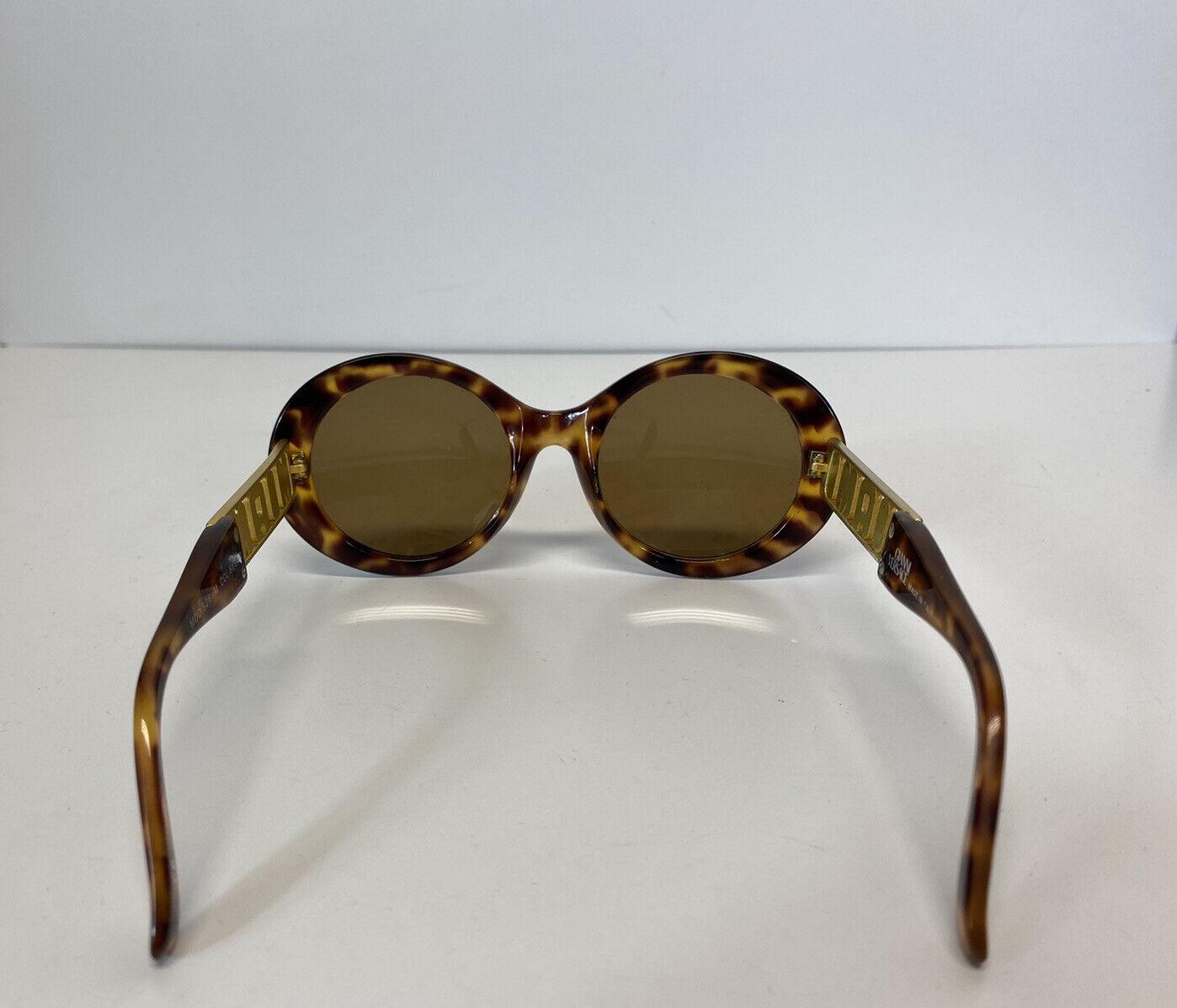 Rare Vtg Gianni Versace Brown 'Miami' Tortoiseshe… - image 3