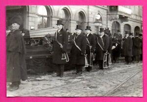 LATVIA-LETTLAND-Funeral-Ceremony-VINTAGE-PHOTO-302