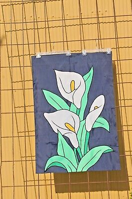 Calla Lily Large Yard Flag Garden House Banner 40 X 27 Sleeved Free Ship Ebay
