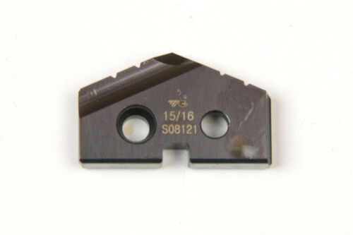 15//16 INCH SPADE DRILL INSERTS T-15 TIALN COATED SERIES 1 TA  NEW A-1-1-7-2