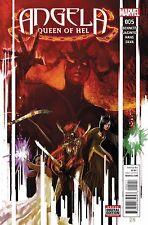 ANGELA QUEEN OF HEL #5 Marvel Comics NM - Vault 35