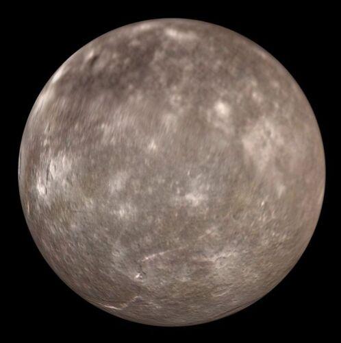 Outer Space Titania Moon Uranus III Solar System NASA 8x10 Photo Picture