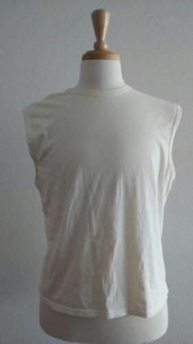 Intimo Ivory Men's Muscle Shirt Sz L