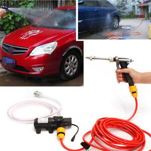 Tragbare-Hochdruck-Waschmaschine-Power-Pumpe-selbstansaugend-Car-Wash-Kit-12V-65