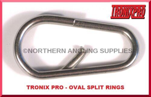 TRONIXPRO OVAL SPLIT RINGS BOTH SIZES