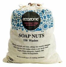 Ecozone Soap nuts - Organic Indian Wash nuts for 330 washes