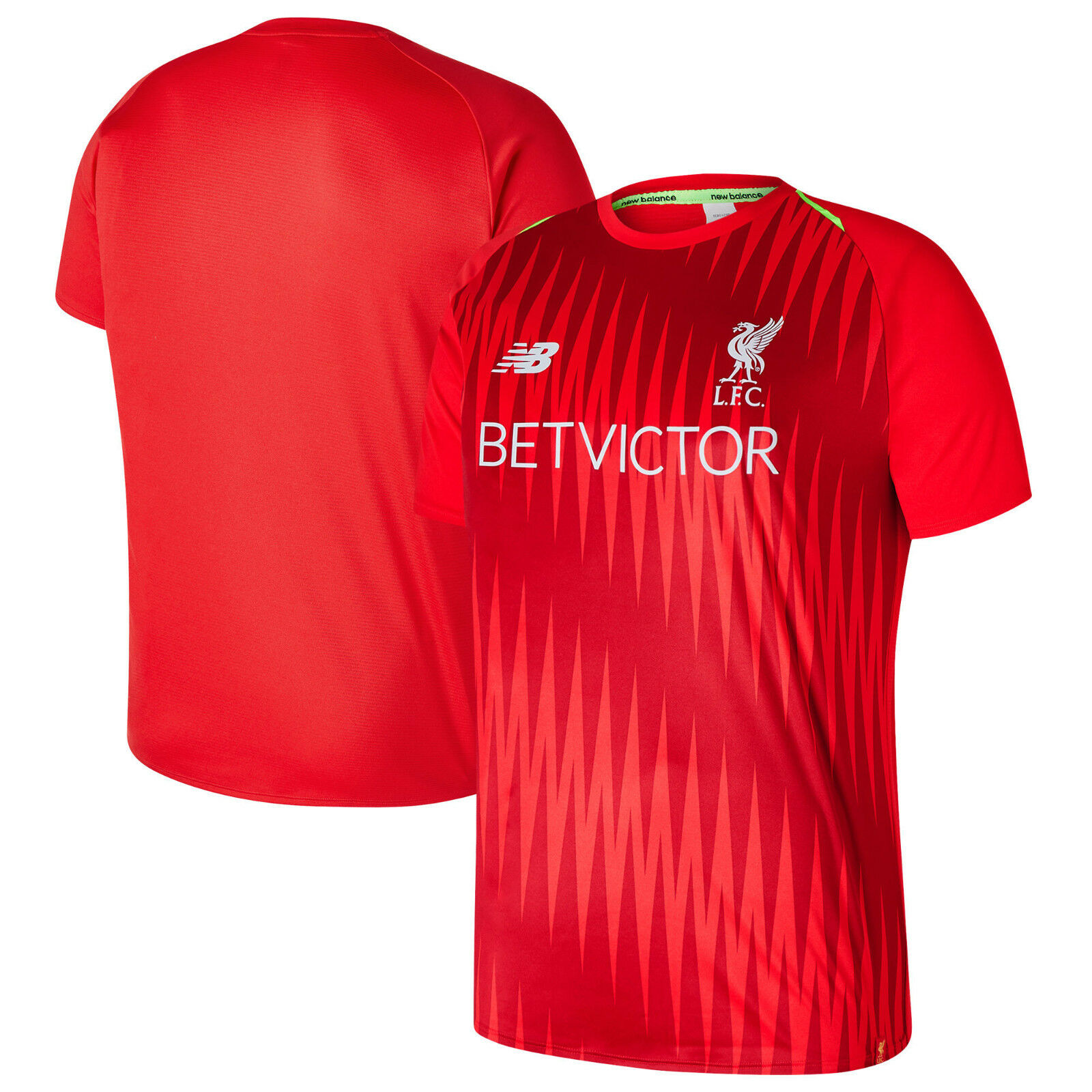 New Balance Liverpool FC Elite Official 2018- 2019 Soccer Training Jersey  ROT