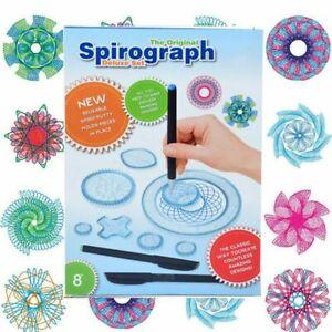 25Pcs Set Plastic Original Spirograph Ruler Design Draw Kid Art Craft Create DIY