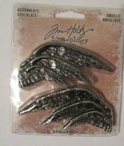 New-TIM-HOLTZ-Idea-ology-Adornments-Angelic-TH93773-6-Angel-Wings