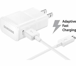 OEM Samsung Galaxy S6 ACTIVE Adaptive Fast Charging charger micro USB data cable
