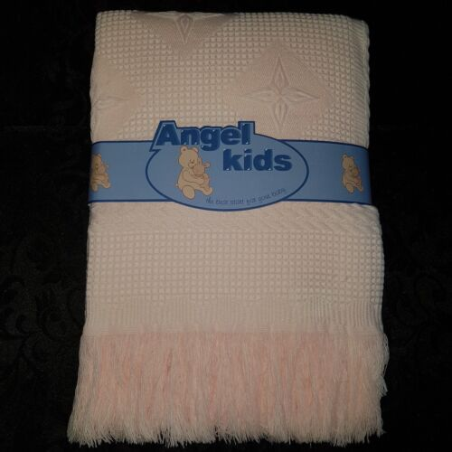 BABY GIRL+BOY BEAUTIFUL SOFT ANGEL SHAWL IDEAL GIFTS CHRISTENING BABY SHOWER