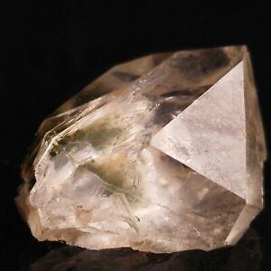 Amazingly Beautiful Clear Quartz Crystal, Rare Unique Chlorite Quartz US SELLER