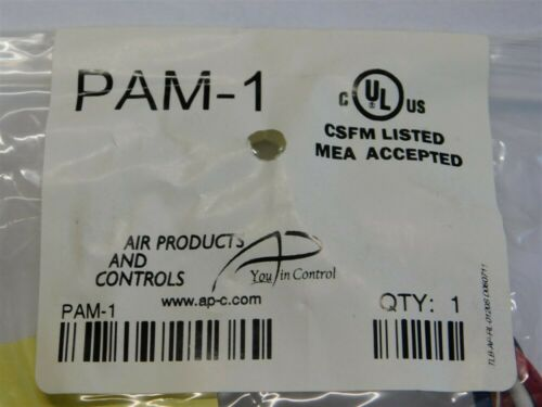 Air Products /& Controls PAM-1 10A Multi-Voltage Relay Module 24VDC//AC or 120VAC