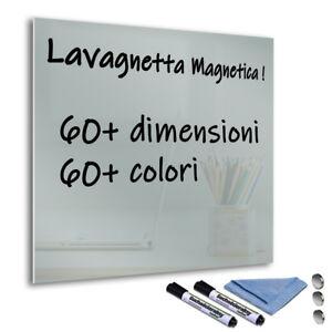 Dettagli su Lavagna Lavagnetta Magnetica Da parete per Ufficio Casa Scuola  Cucina Grigio