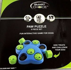 Dog Activity Flip Board Interactive Brain Game Mind Training Puzzle