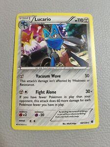 Lucario Holo   EX/NM   XY Fates Collide 63/124   Pokemon