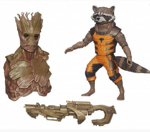 Marvel Legends Hasbro w// BAF Groot Head Rocket Raccoon Guardians of the Galaxy