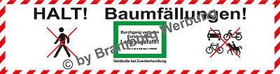 Objective 10 Absperrbanner Für Forst Baumfällung Holzrücker Waldarbeiten Gem.waldg Ver2 Consumers First