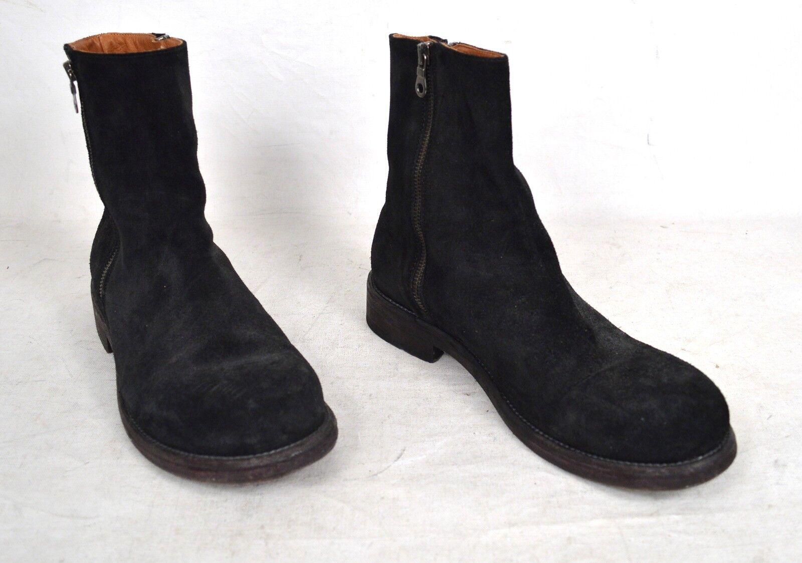 Barneys nouveau York Bottes en daim noir taille Zip Cheville 8.5 M pour homme