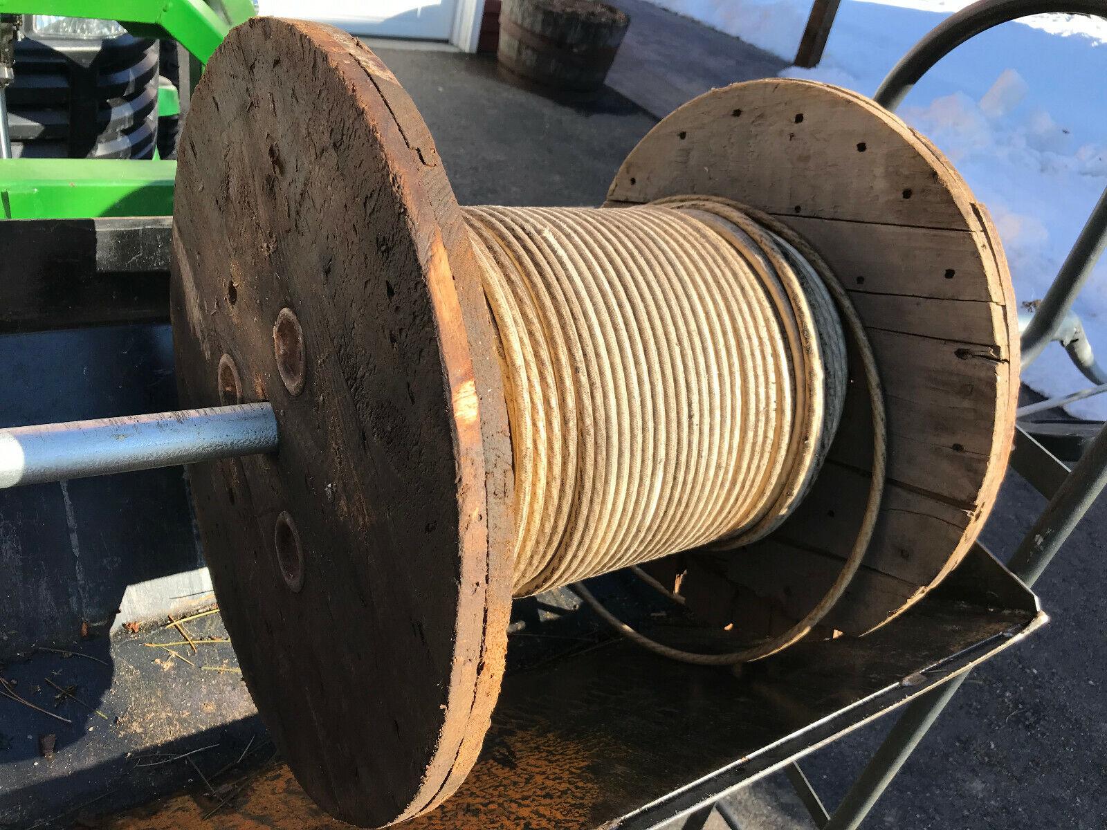 320' carrete de cable de la batería avión aviación nos