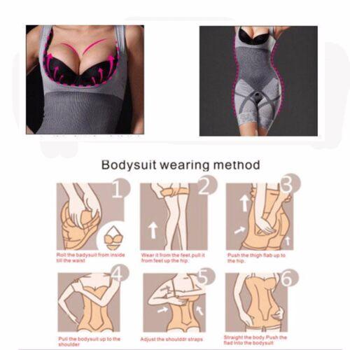 Full Body Shaper Shapewear For Women Stretch Breathable Cincher Corset Bodysuit