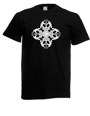 Bellissimo T-shirt Da Uomo I Vajra I Vajrayana Buddhism I Proverbi I Fun I Divertente-mostra Il Titolo Originale Alta Qualità