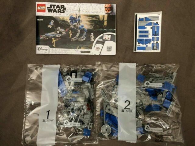 LEGO Star Wars 75280 501st Legion Walker and Speeder ONLY, NO MINIFIGS / NO BOX