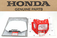 Headlight Cover Shroud Number Plate Set 96-04 XR250 R XR400 R (See Notes) #S64
