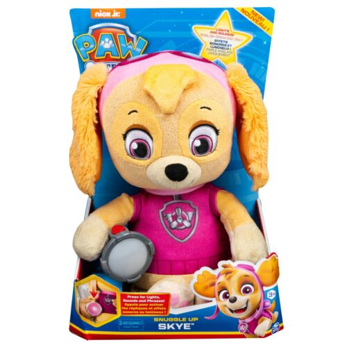 Snuggle Up Skye Plush with Flashlight and Sounds Xmas Toy PAW Patrol Age 3+