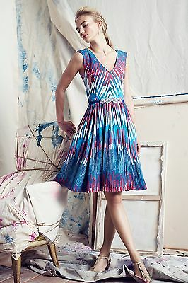 NWT Anthropologie Tracy Reese Art Gallery Dress Amazing 5 Stars Size 2