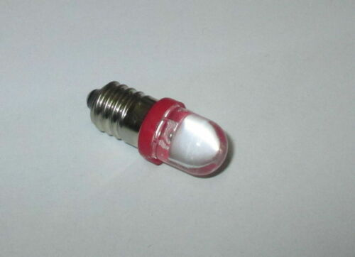 für Krippen rot Puppenhäuser  NEU LED Schraubbirne E10 3,5-4,5Volt