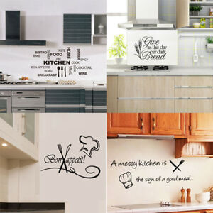Vinyl-Kitchen-Wall-Decal-Rules-Room-Decor-Art-Quote-Stickers-Removable-Mural-DIY