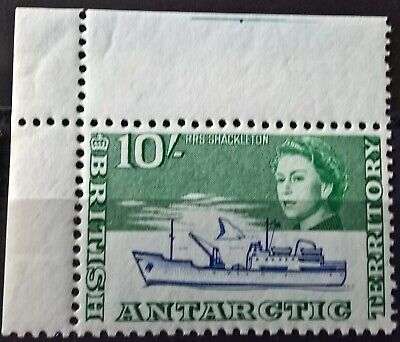 British Antarctic Territory Mi. 14 Topwert Eckrandstück **