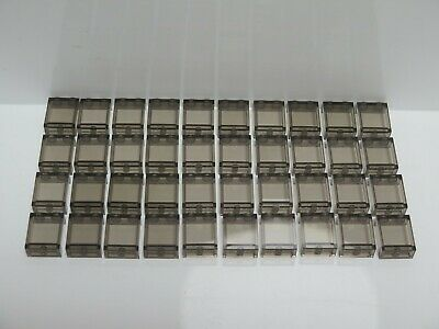 Panel 1 x 2 x 2 w Side Supports 2 Hollow Studs 87552 TRANS CLEAR LEGO Parts~