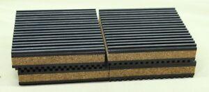 """CP4X4 Air Compressor Tank Anti Vibration  Pads 4"""" X 4"""" X 7/8"""" Qty 4"""