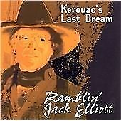 Kerouacs-Last-Dream-Ramblin-Jack-Elliot-Audio-CD-New-FREE-amp-FAST-Delivery
