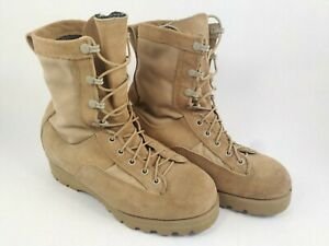 McRAE-U-S-ARMY-Temperate-Weather-Combat-Boots-Vibram-Sole-Goretex-size-7-1-2XW